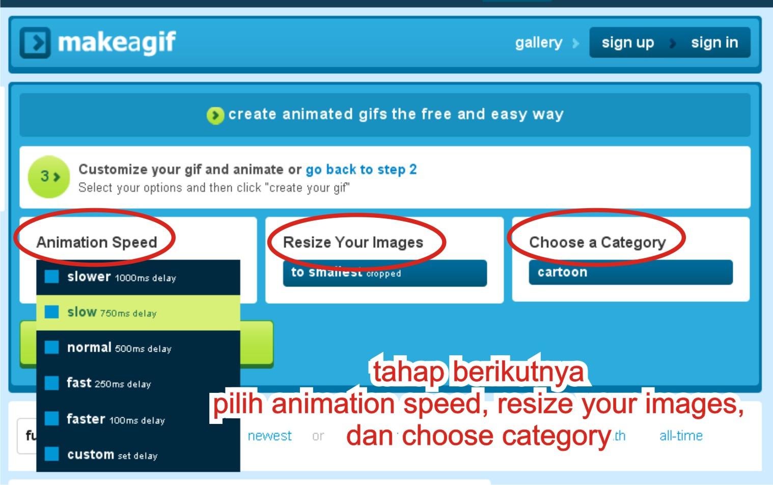 Cara Membuat Animasi GIF Dari JPG Dengan Web Online Muhammad Farhan